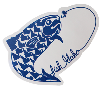 Fish Idaho Sticker