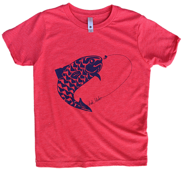 Fish Idaho Youth Tee
