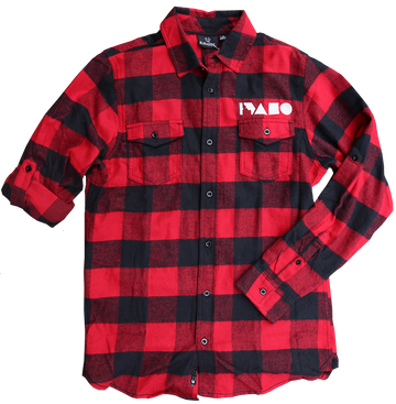 Geo Idaho Plaid Flannel