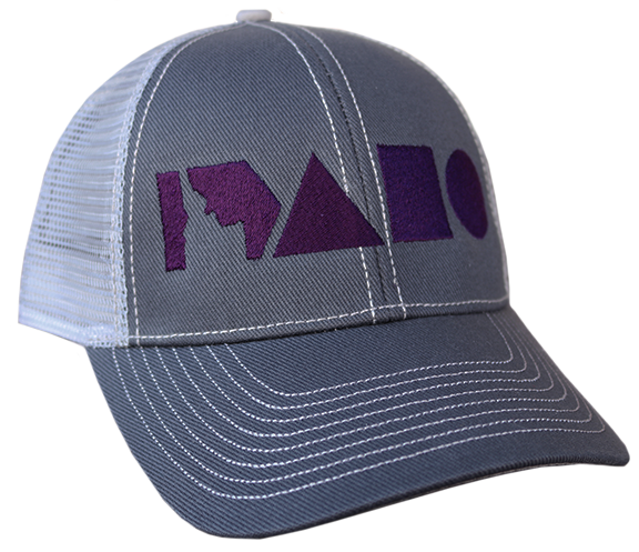 Geo Idaho Adjustable Mesh Hat