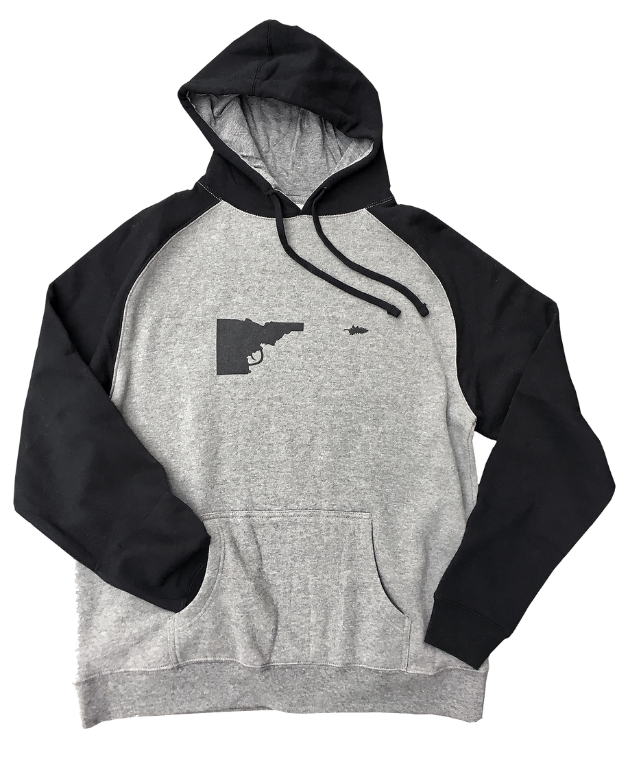 Idaho Tree-Gun Raglan Sweatshirt