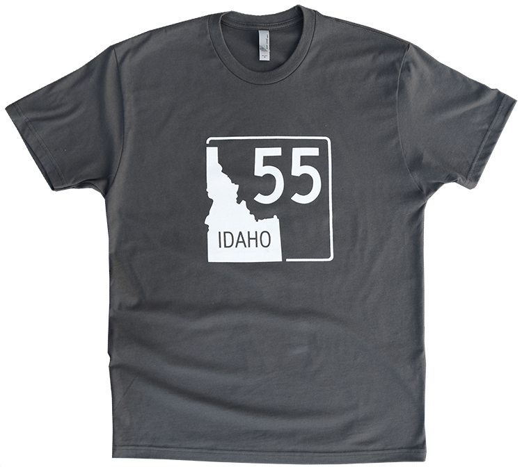 Idaho Highway 55 Mens Tee