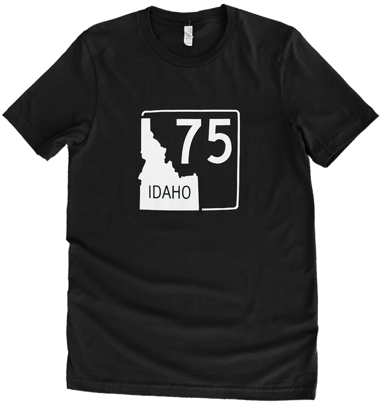 Idaho Highway 75 Mens Tee