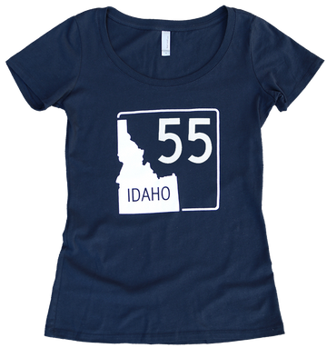 Idaho Highway 55 Ladies Tee