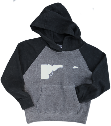 Idaho Tree-Gun Youth Sweatshirt