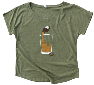 Idaho Brew Ladies Flowy Tee