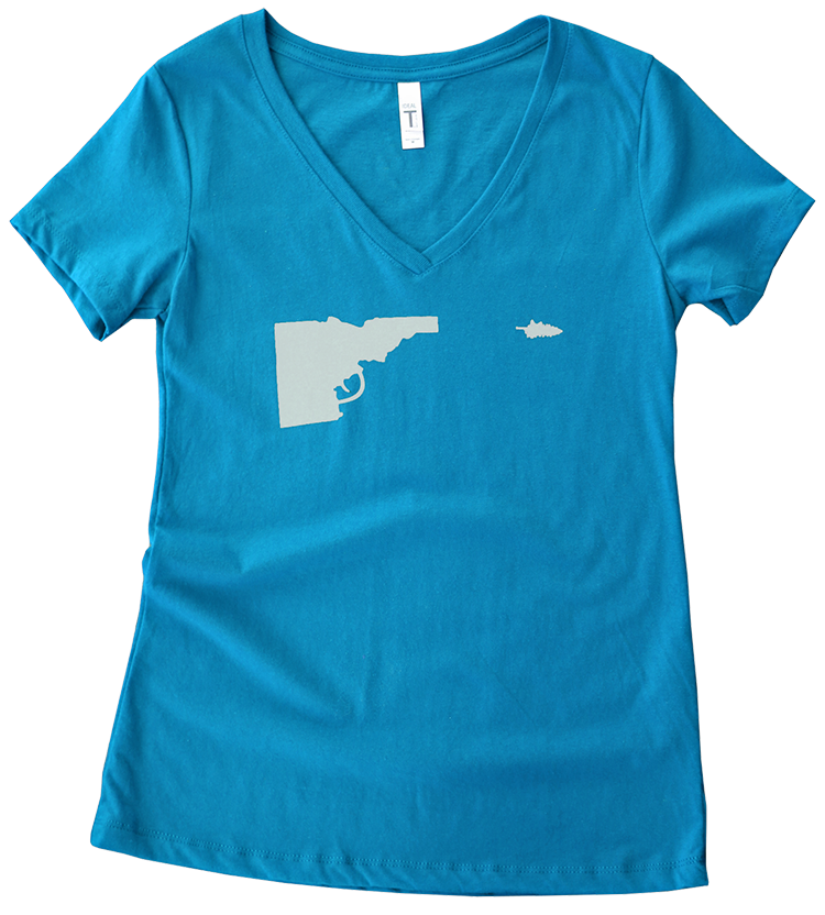 Idaho Tree-Gun Ladies Tee