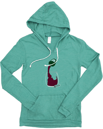 Idaho Vino Ladies Hooded Tee