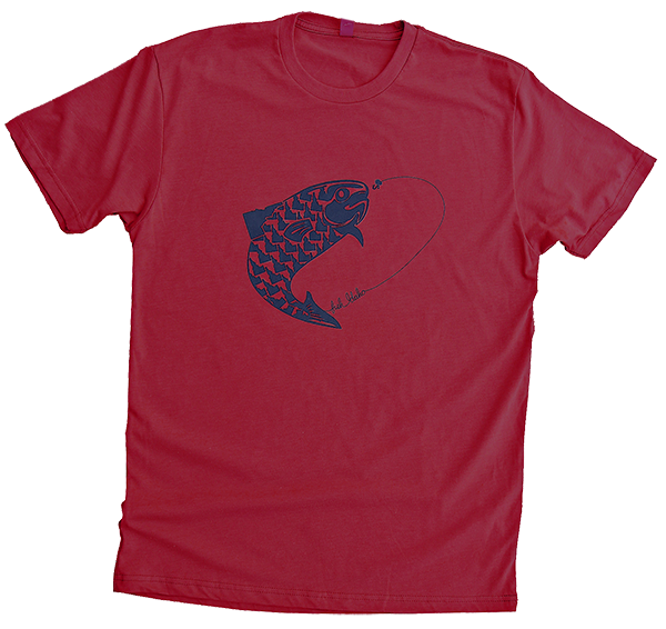 Fish Idaho Mens Tee