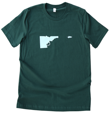 Idaho Tree-Gun Mens Tee