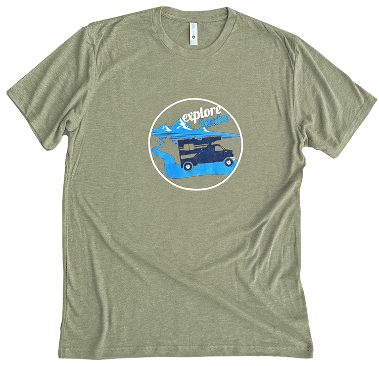 Explore Idaho Mens Tee