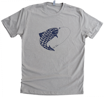 LAST CHANCE Fish Idaho Mens Tee