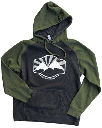 Idaho Mountains Pullover Hoodie