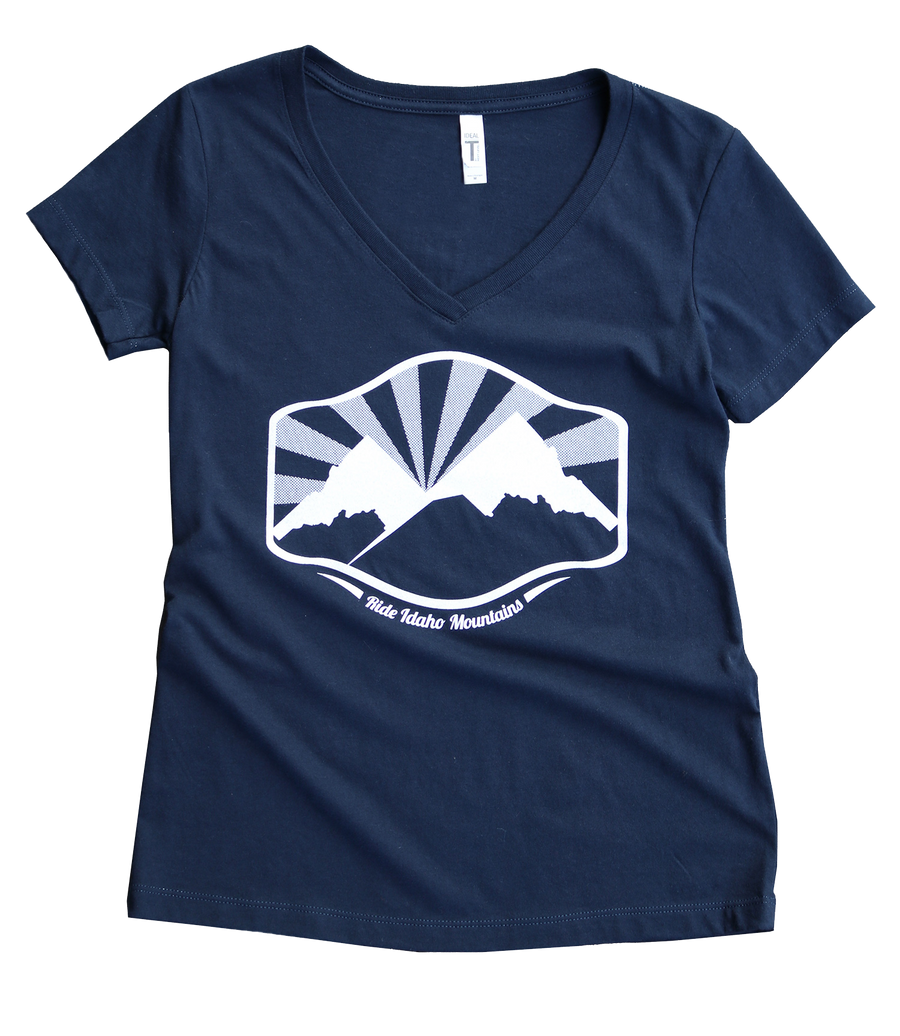 Idaho Mountains Ladies Tee