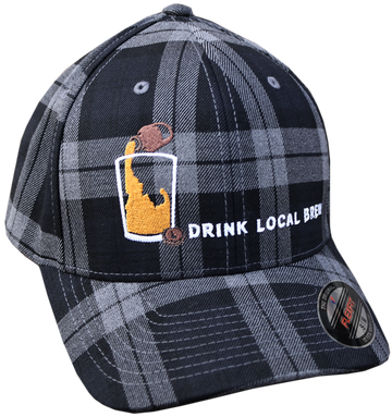 Idaho Brew Plaid Hat