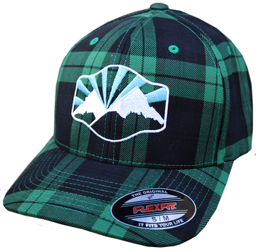 Idaho Mountain Plaid Hat
