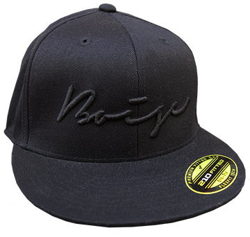 Script Boise Flat-Bill Fitted Hat