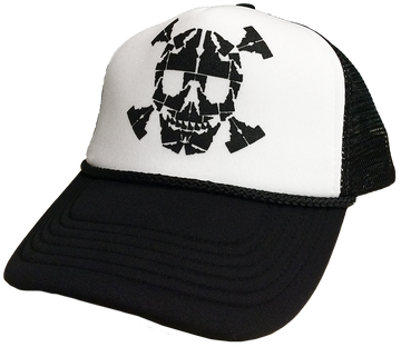 Idaho Skull Foam Trucker Hat