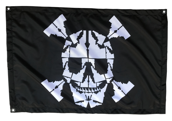 Idaho Skull Flag