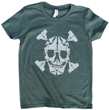 Idaho Skull Youth Tee