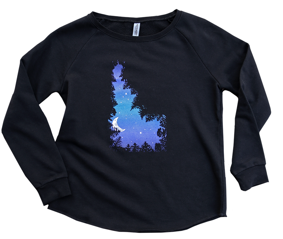 NEW! Skydaho Ladies Crew Pullover