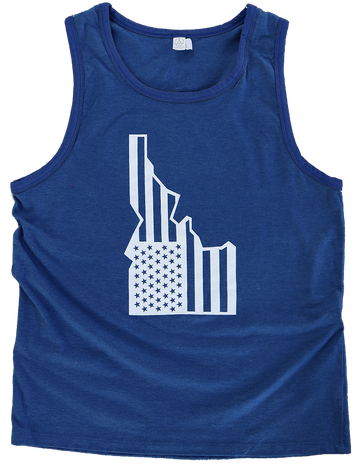 LIMITED EDITION - Star-Spangled Idaho Mens Tank