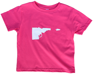 Idaho Tree-Gun Toddler Tee