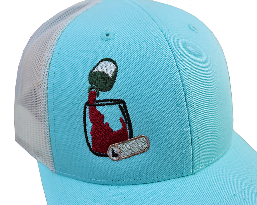Idaho Vino Adjustable Mesh Hat