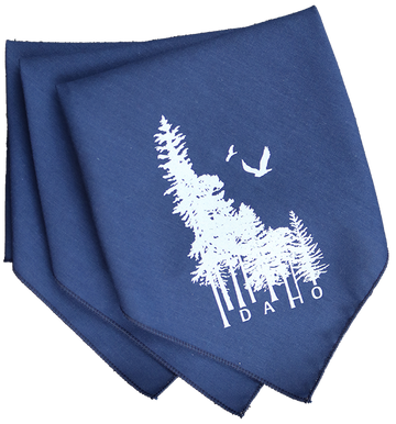 Idaho Wilderness Triangle Bandana