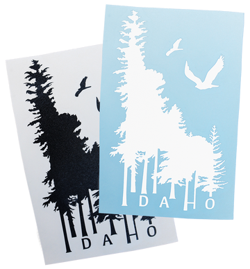 Idaho Wilderness Sticker - 6.5