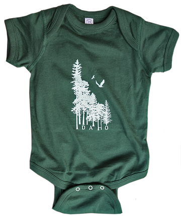 Idaho Wilderness Baby Onesie