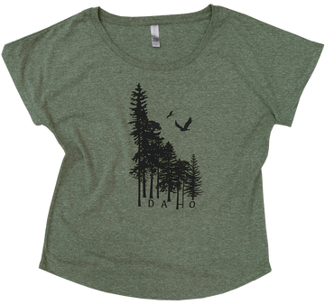 Idaho Wilderness Ladies Scoop Tee