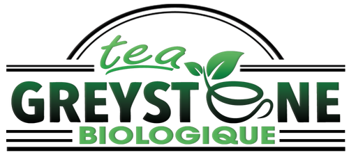 Greystone Premium Organic Tea Logo - USDA Canada Organic Herbal Tea/ Tisane