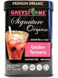 Premium Organic Ginger Turmeric - Superfood Tea Tin - Kosher - Caffeine-Free - Non-Gmo, No Added Scents or Flavors