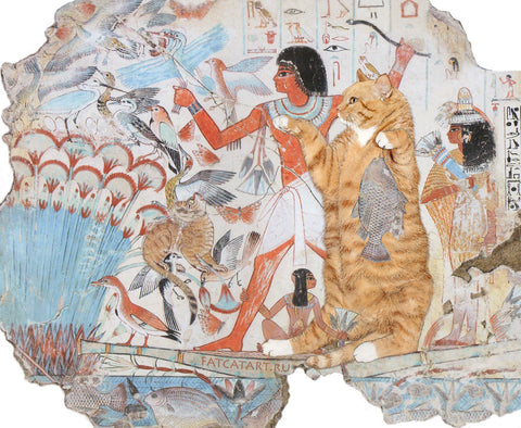 Tomb of Nebamun c 350 BCE