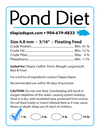 1 LB. Pond Diet (1lb bag) - by Tilapia Depot