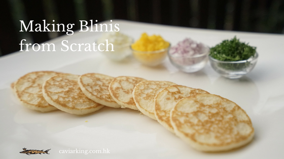 Making Blinis from Scratch | Recipe by Caviar King