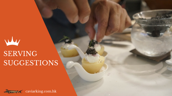 Serving Suggestions with Caviar | Caviar King