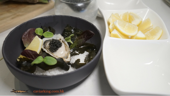 Oysters with Caviar | Recipe by Caviar King