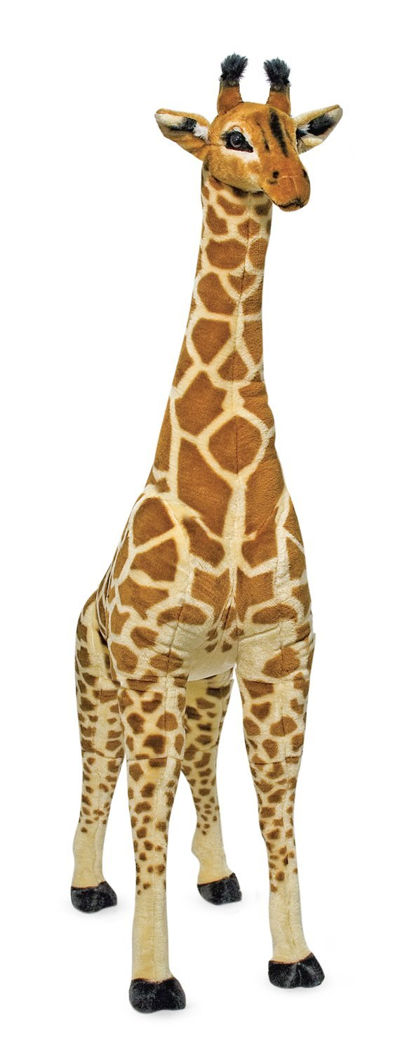 Melissa Doug Giant Giraffe Lifelike Stuffed Animal Toyworld Com