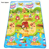 180*120*0.3cm Baby Crawling Play Puzzle Mat, Children Carpet, Toy Kid Game, Activity Gym, Developing Rug, Outdoor Eva Foam Soft Floor