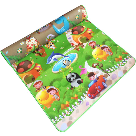180*120*0.5cm Baby Crawling Play Mat, Children Puzzle Toy, Carpet Kid, Game Activity Gym Developing Rug, Eva Foam Soft Floor Gift