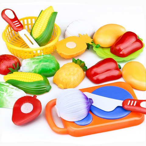 12PC Cutting Fruit Vegetable Pretend Play, Children Kid Educational Toy Pretend Play toys for children