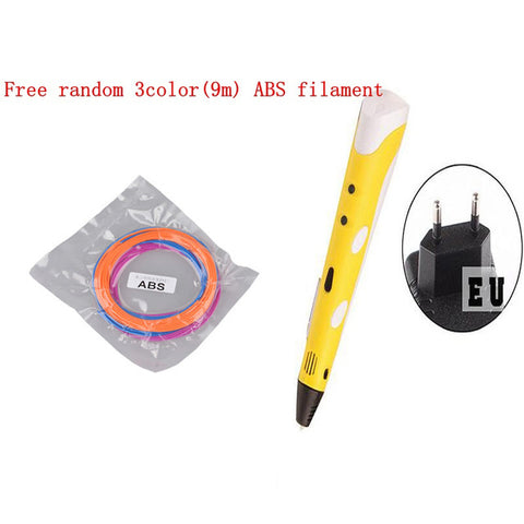 3D Printer Pen Drawing, 3D Printing Pens with ABS Filament 1.75mm for Kids Christmas Birthday gift