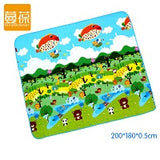 160*130cm Baby Play Mats City Road Carpets For kids