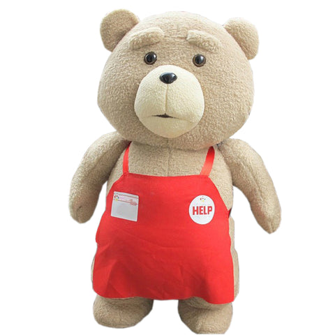 Big Size 46 cm Original Teddy Bear, Stuffed Plush Animals Ted 2 Plush Soft Doll