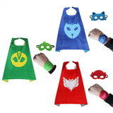 High Quality PJ Mask 4pcs/set  Cosplay Action Toys For Children