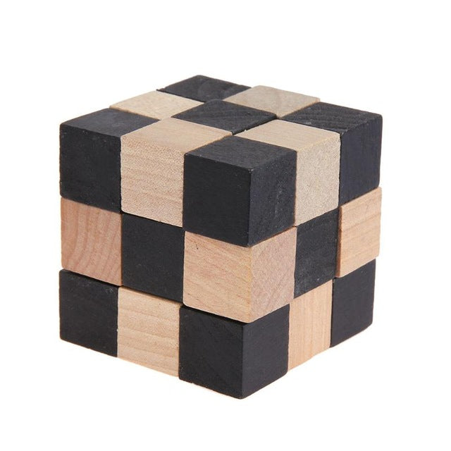 Educational Wood Puzzles For Adults Kids Brain Teaser 3D Russia Ming Luban