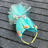 Trolls Party Rainbow Hairbands for Kids