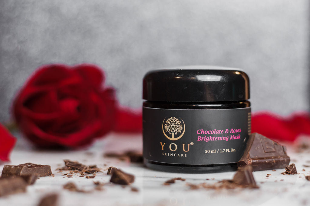 YOU Skincare Chocolate & Roses Brightening Mask